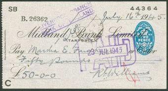 Picture of Midland Bank Ltd., Tarporley, 19(45), type 6