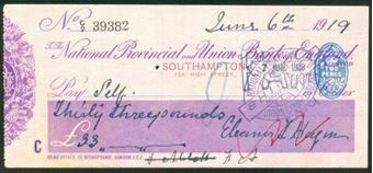 Picture of National Provincial and Union Bank of England Ltd., Southampton, 19(19)