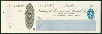 Picture of National Provincial Bank Ltd.,  95, Chancery Lane, W.C.2, 19(26), type 17a