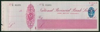 Picture of National Provincial Bank Ltd., Amlwch (Anglesey),  19(32), type 16d
