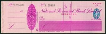 Picture of National Provincial Bank Ltd., Hereford,  19(37), type 16d