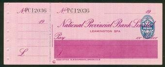 Picture of National Provincial Bank Ltd., Leamington Spa,  19(26), type 15