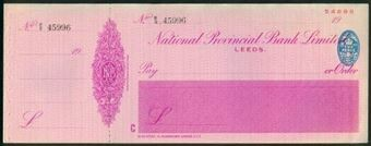 Picture of National Provincial Bank Ltd., Leeds, 19(41), type 16d