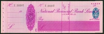 Picture of National Provincial Bank Ltd., Lichfield, 19(37), type 16d