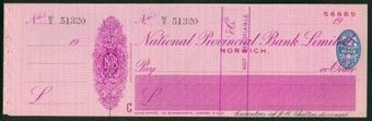 Picture of National Provincial Bank Ltd., Norwich, 19(41), type 16d