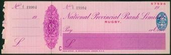 Picture of National Provincial Bank Ltd., Rugby, 19(41), type 16d