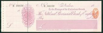 Picture of National Provincial Bank of England Ltd., Cheltenham, 18(91), type 10a