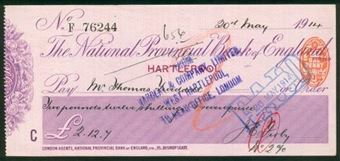 Picture of National Provincial Bank of England Ltd., Hartlepool, 19(14), type 11d