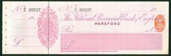 Picture of National Provincial Bank of England Ltd., Hereford, 19(03), type 11c