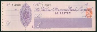 Picture of National Provincial Bank of England Ltd., Leicester, 19(17), type 11e