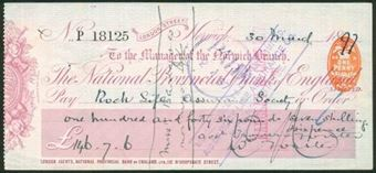Picture of National Provincial Bank of England Ltd., London Street, Norwich, 18(97), type 10a