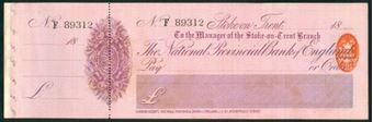 Picture of National Provincial Bank of England Ltd., Stoke on Trent, 18(97), type 10b