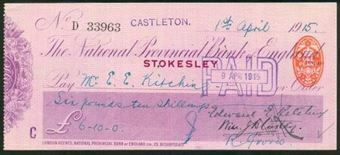 Picture of National Provincial Bank of England, Stokesley, 19(15), type 11d