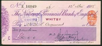 Picture of National Provincial Bank of England, Whitby, 19(14), type 11d
