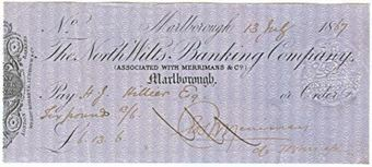 Picture of North Wilts Banking Co., Marlborough, Merrimans & Co., 18(67)