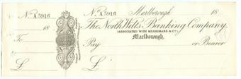 Picture of North Wilts Banking Co., Marlborough, Merrimans & Co., 18(73)