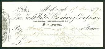 Picture of North Wilts Banking Company, Marlborough, 18(72), Merrimans & Co.