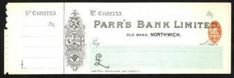 Picture of Parr's Bank Limited, Northwich, Old Bank, 189(9)