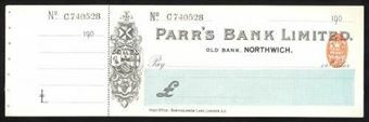 Picture of Parr's Bank Limited, Northwich, Old Bank, 190(0)
