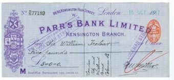 Picture of Parr's Bank Ltd., 88/90 Kensington High St., London, 19(17)