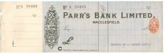 Picture of Parr's Bank Ltd., Macclesfield, 191(4)