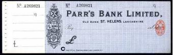 Picture of Parr's Bank Ltd., Old Bank, St Helens, Lancs., 19(13)