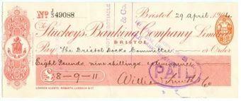 Picture of Stuckey's Banking Company Ltd., Bristol, 190(4)