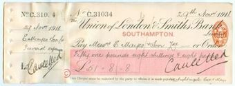 Picture of Union of London & Smiths Bank Limited, Southampton, 191(1)