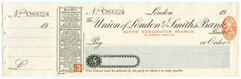 Picture of Union of London & Smiths Bank Ltd., South Kensington, London, 19(07)