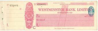 Picture of Westminster Bank Ltd., Birkenhead, 19(26), type 2b