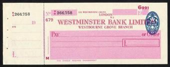 Picture of Westminster Bank Ltd., Westbourne Grove, 19(49), type 10a