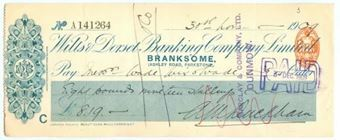 Picture of Wilts & Dorset Banking Co. Ltd., Branksome, 19(09)