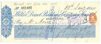 Picture of Wilts & Dorset Banking Co. Ltd., Bridgwater, 18(94)