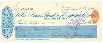 Picture of Wilts & Dorset Banking Co. Ltd., Malmesbury, 190(5)