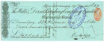 Picture of Wilts & Dorset Banking Co. Ltd., Marlborough, 18(87)