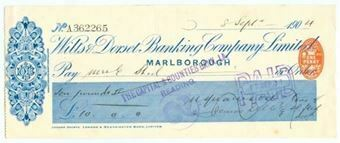 Picture of Wilts & Dorset Banking Co. Ltd., Marlborough, 190(4)