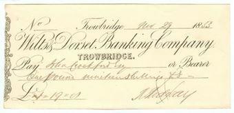 Picture of Wilts & Dorset Banking Co. Ltd., Trowbridge, 18(53)