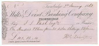 Picture of Wilts & Dorset Banking Co. Ltd., Trowbridge, 18(62)