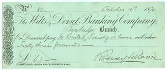 Picture of Wilts & Dorset Banking Co. Ltd., Trowbridge, 18(70)