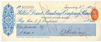 Picture of Wilts & Dorset Banking Co. Ltd., Weston Super Mare, 18(99)