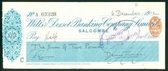 Picture of Wilts & Dorset Banking Company Ltd., Salcombe, 19(12)
