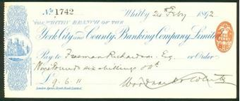 Picture of York City & County Banking Company Ltd., Whitby, 189(2)