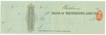 Picture of Bank of Whitehaven Ltd., Whitehaven, 18(85)