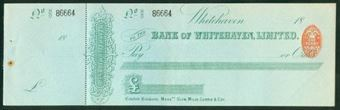 Picture of Bank of Whitehaven Ltd., Whitehaven, 18(92)