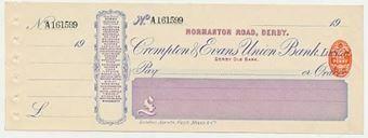 Picture of Crompton & Evans Union Bank Ltd, Normanton Road, Derby, Derby Old Bank, 19(04)