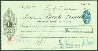 Picture of Lewis's Bank Limited, Liverpool, 19(63)