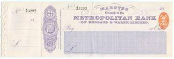 Picture of Metropolitan Bank (of England & Wales) Ltd., Maesteg, 18(95)