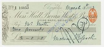 Picture of Hall, Bevan, West & Bevans, Brighton, 189(3)
