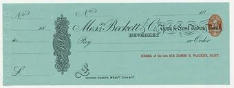Picture of Messrs Beckett & Co.,York & East Riding Bank, Beverley, 18(96)