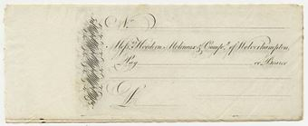 Picture of Messrs Hordern, Molineux & Co., Wolverhampton, c(1811)